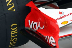 Front wing of a Ferrari