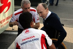 Sir Frank Williams, Aguri Suzuki ve Daniele Audetto