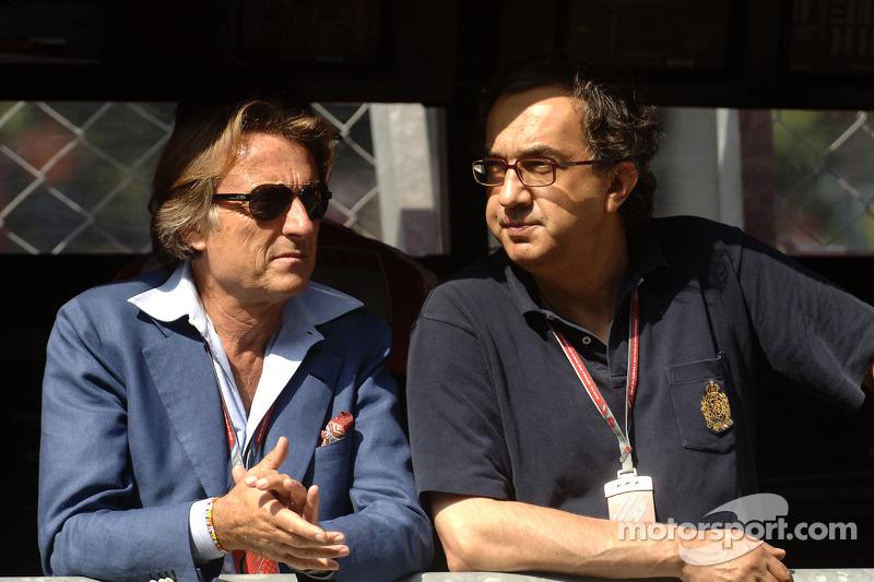Luca di Montezemolo and Sergio Marchionne