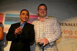 Best Media Support Winner Andrew van de Burgt