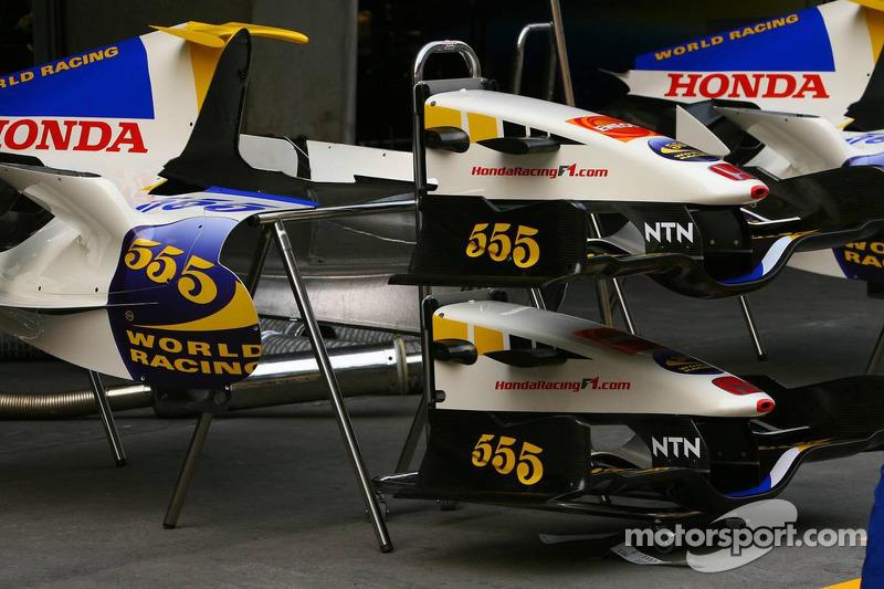 Piezas de Honda Racing F1 Team RA106