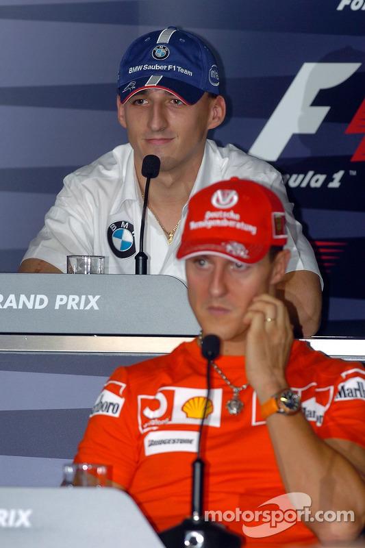 Conferencia de prensa FIA: Robert Kubica y Michael Schumacher