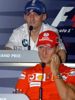 FIA Thursday press conference: Robert Kubica and Michael Schumacher