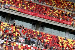A banner for Michael Schumacher