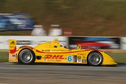 #6 Penske Motorsports Porsche RS Spyder: Sascha Maassen, Timo Bernhard, Emmanuel Collard