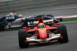 Felipe Massa leads Mark Webber