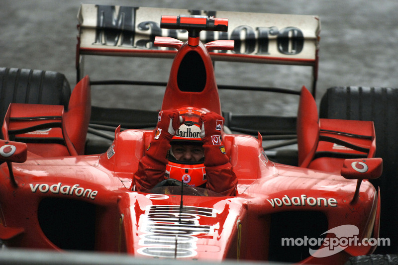 23º Michael Schumacher - 13 carreras - De San Marino 2006 a China 2006 - Ferrari