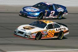 Dale Jarrett and Kurt Busch