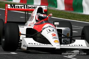 The successful McLaren Honda