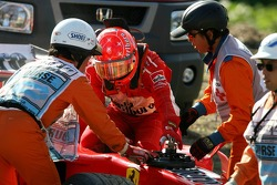 Ausfall: Michael Schumacher, Ferrari