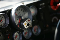 Detail of an instrument panel