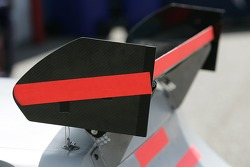 Rear wing of the Roush Ford