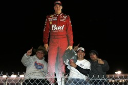A few of the many fans of Dale Earnhardt Jr.