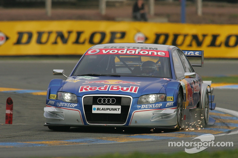 Funkenflug: Mattias Ekström, Audi Sport Team Abt Sportsline, Audi A4 DTM 2006