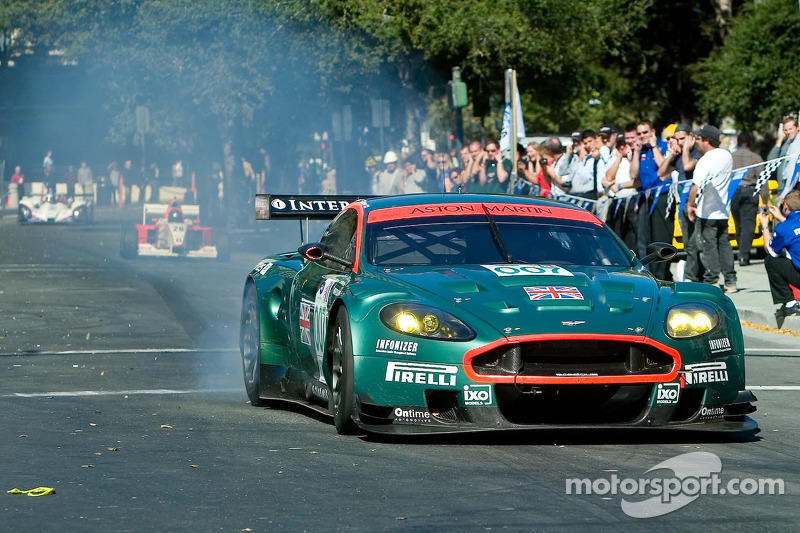 Aston Martin conduite par Tomas Enge ALMS San José Mini Le Mans 18 Octobre 2006