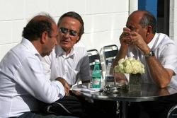 Ron Dennis y Mansour Ojeh