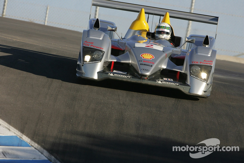#2 Audi Sport North America Audi R10 TDI Power: Rinaldo Capello, Allan McNish