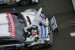Bruno Spengler wins the race
