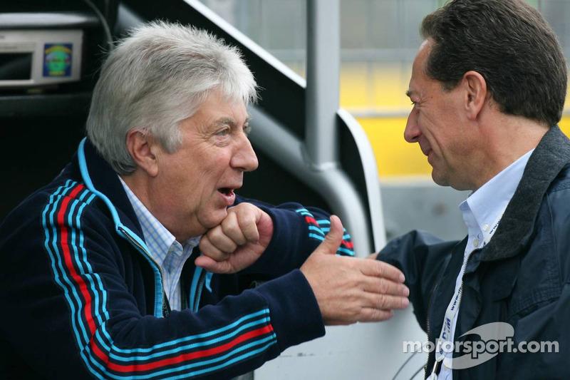 Herbie Blash, FIA observer, visits the DTM