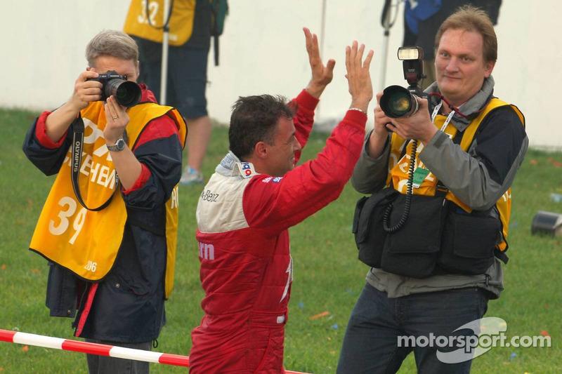 Moments émouvants pour Jean Alesi pour sa dernière course de DTM