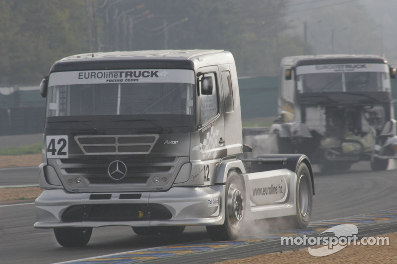Euroline Truck Racing Team Mercedes Benz n°42 : Jochen Mass