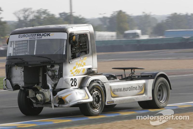 Euroline Truck Racing Team Mercedes Benz n°28 : Markus Oestreich
