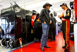 Richard and Kyle Petty