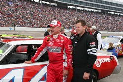 Justin and Terry Labonte