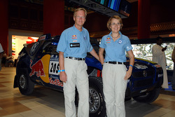 Ari Vatanen and Fabrizia Pons