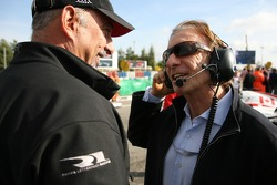 Bobby Rahal and Emerson Fittipaldi, Seat Holder of A1Team Brazil