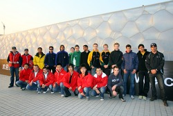 A1GP Drivers vist the Olympic