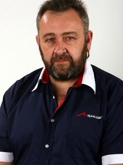 Paul Bellringer, Team Manager of A1Team Great Britain