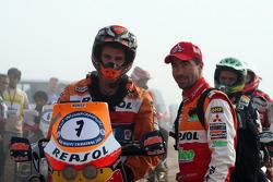 Jordi Viladoms and Luc Alphand