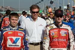 Scott Riggs, Ray Evernham and Kasey Kahne