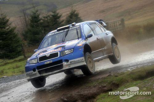 Le Rallye de Grande-Bretagne