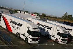 Bridgestone transporters