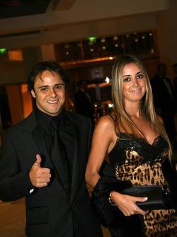 Felipe Massa, Scuderia Ferrari Formula One driver and wife
