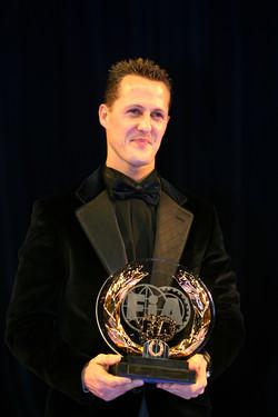 2006 seven times world champion: Michael Schumacher