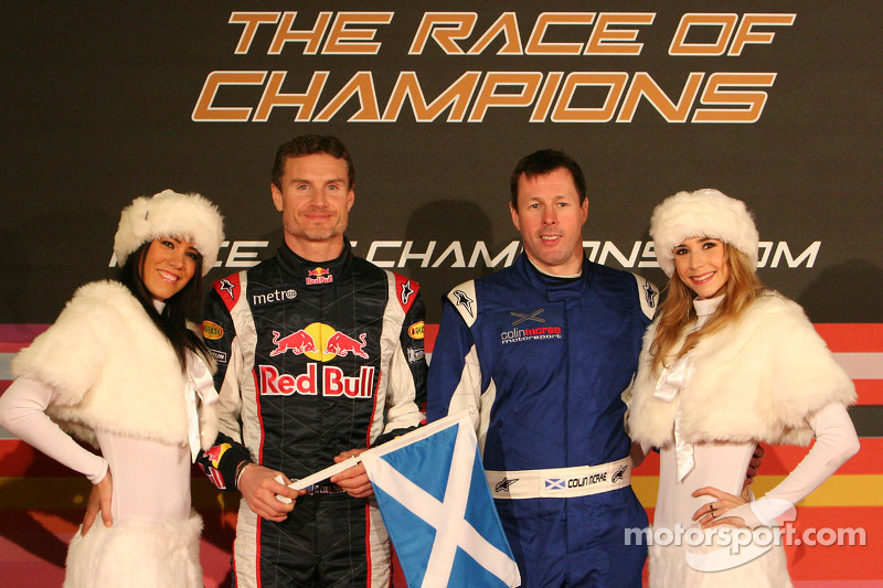 David Coulthard und Colin McRae beim Race of Champions
