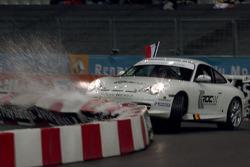 Quarter final: Sébastien Loeb hits the wall