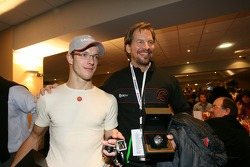 Fredrik Johnsson and Sébastien Bourdais