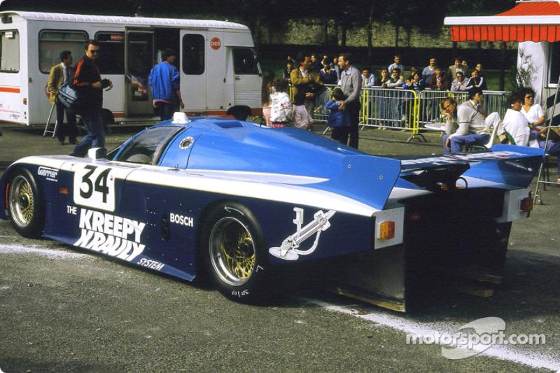 #34 Kreepy Krauly Racing March 84 G Porsche:  Graham Duxbury, Christian Danner, Almo Copelli