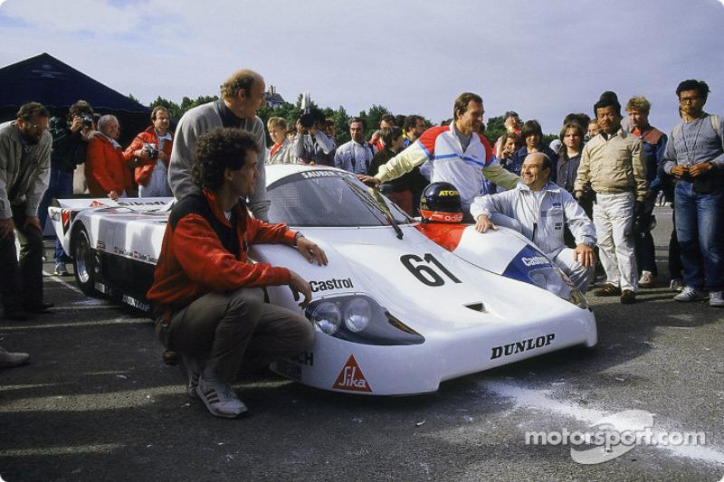 #61 Sauber Racing Sauber C 8 Mercedes: John Nielsen, Dieter Quester, Max Welti