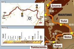 Stage 9: 2007-01-15, Tichit to Néma