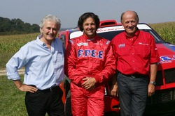 Team Dessoude test in Le Galicet: Hugues de Chaunac, Yvan Muller and André Dessoude