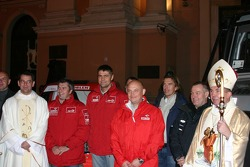 Orlen Team: a religious ceremony for Orlen team members