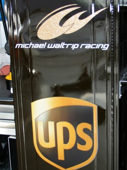 Michael Waltrip Racing garage area