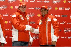 Press conference: Kimi Raikkonen and Felipe Massa