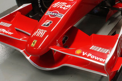 Detail of the new Ferrari F2007