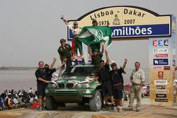 Car category podium: Paulo Nobre and Filipe Palmeiro